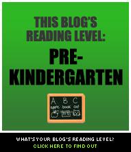 blog reading level