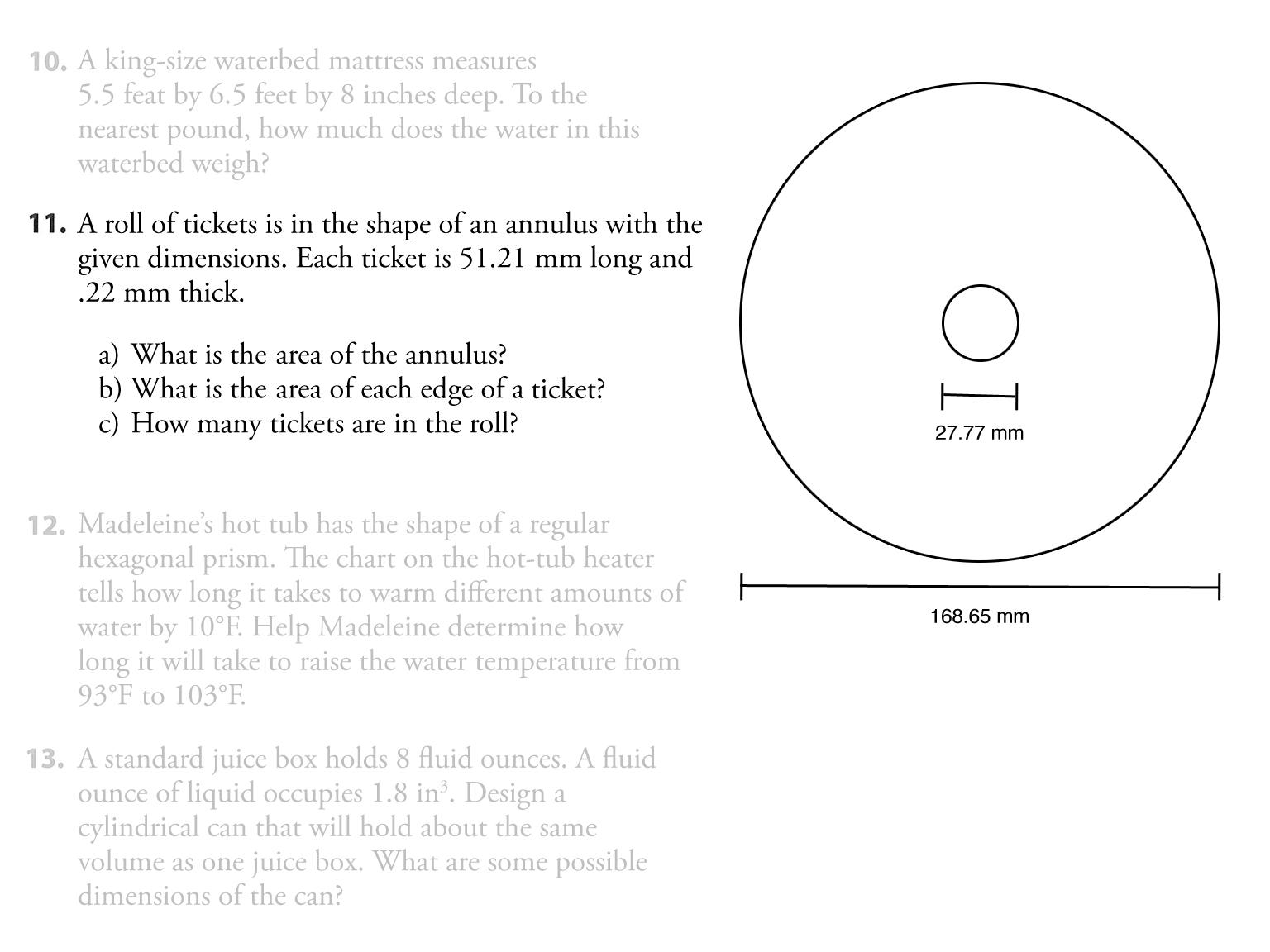 Basic math practice problems