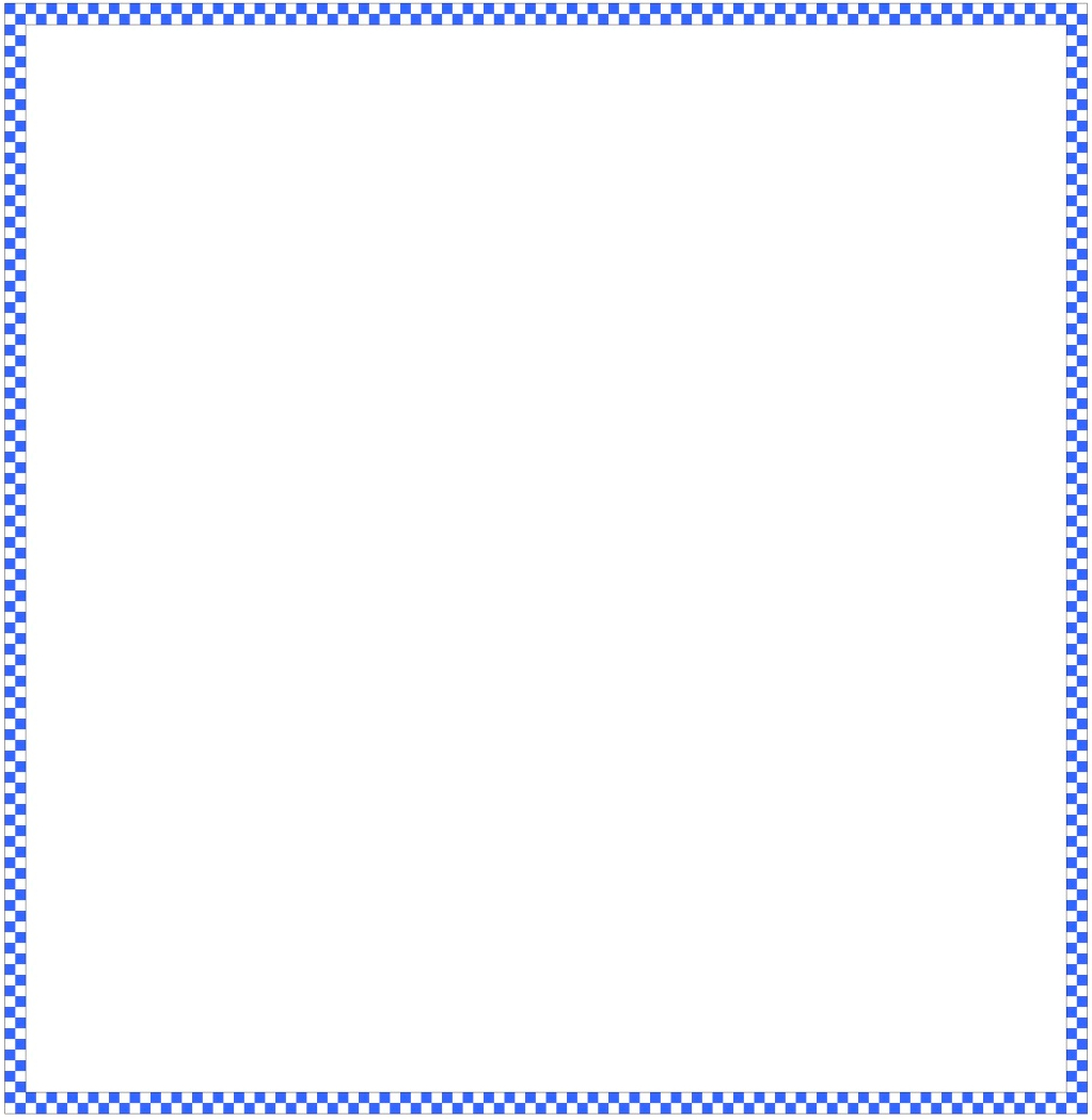 Math Borders For Word [makeover] checkerboard border