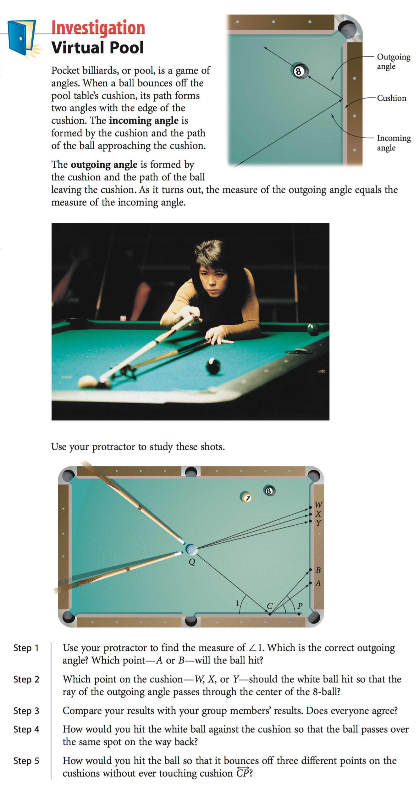 Who Wore It Best: Pool Table Math – dy/dan