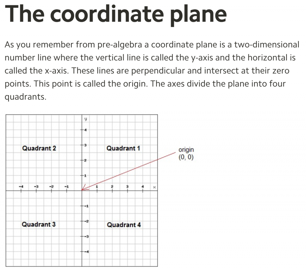 A Gridded Plane Is The Formal Sibling Of The Gridless Plane The Gridded  Plane Allows For More Power And Precision, But A Student's Earliest  Experience